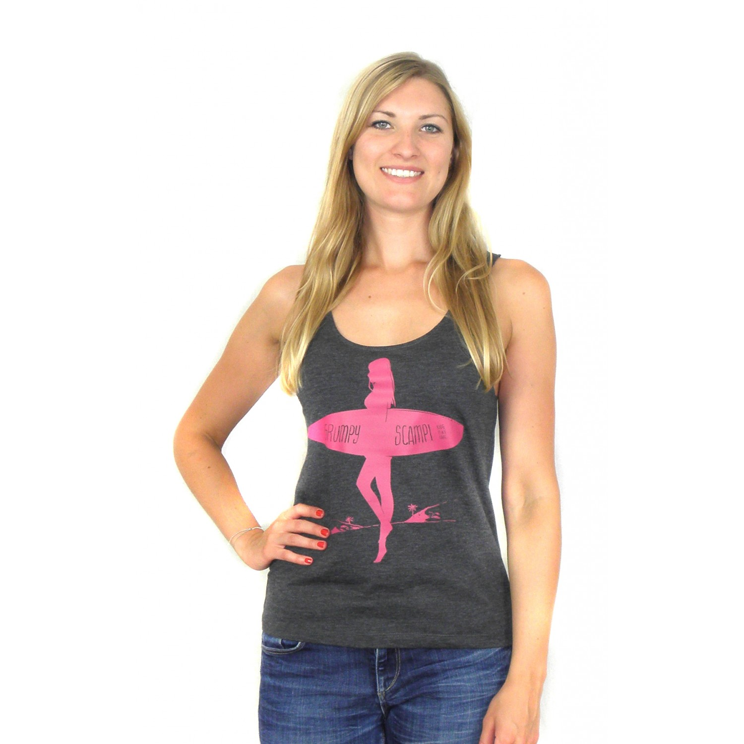 BEAUTY & A BOARD CARBON Beach Tanktop