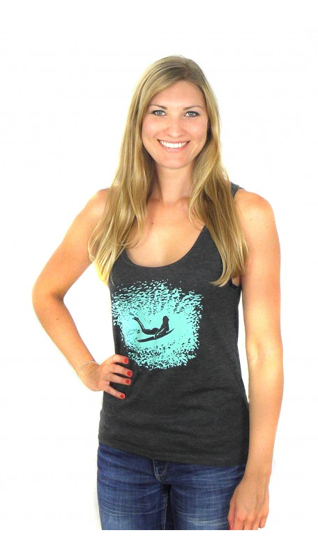 DUCKDIVE CARBON Beach Tanktop