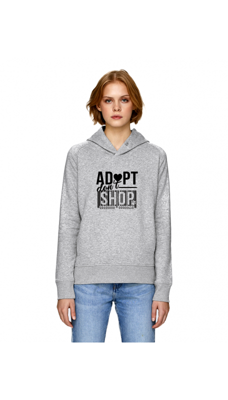 ADOPT DON'T SHOP Hoodie (Charity Project)