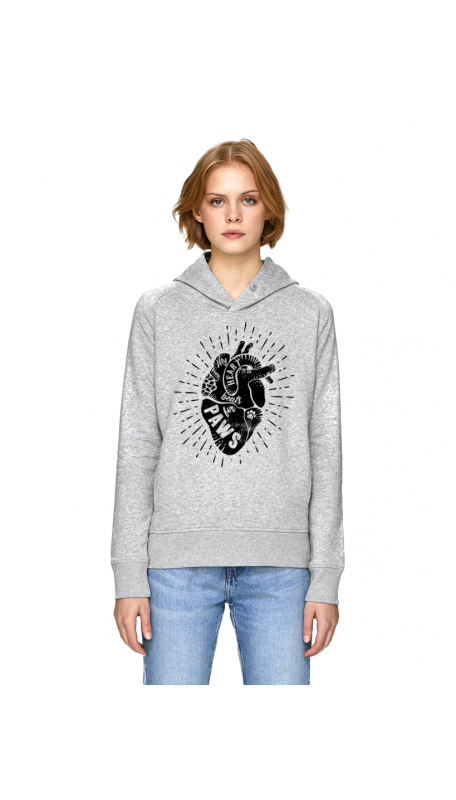 HEART FOR PAWS Hoodie (Charity Project))