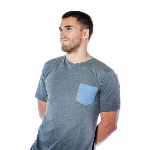 BLUE POCKET  T-Shirt