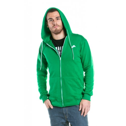 FINEST GREEN  Hoody Zipper