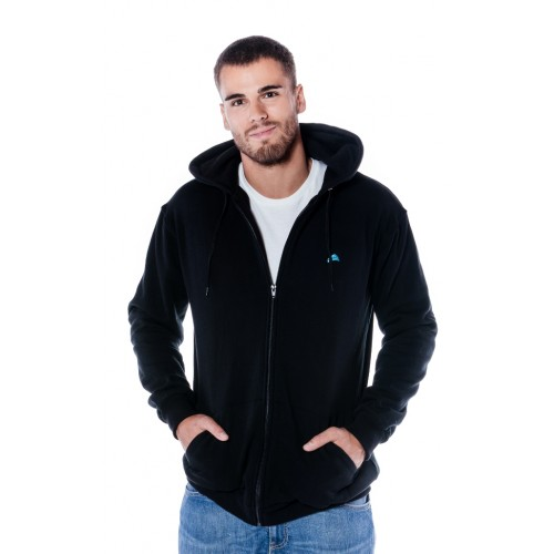 SIGNATURE BLACK  Hoody Zipper