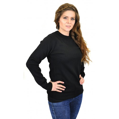 BLACK BUTTON Boyfriend Cut Pullover