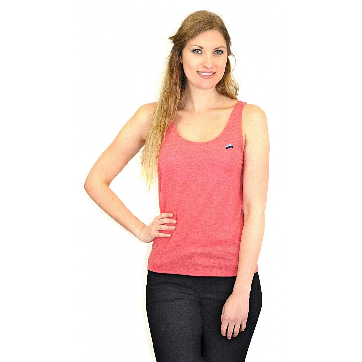 MISTY CORAL Beach Tanktop