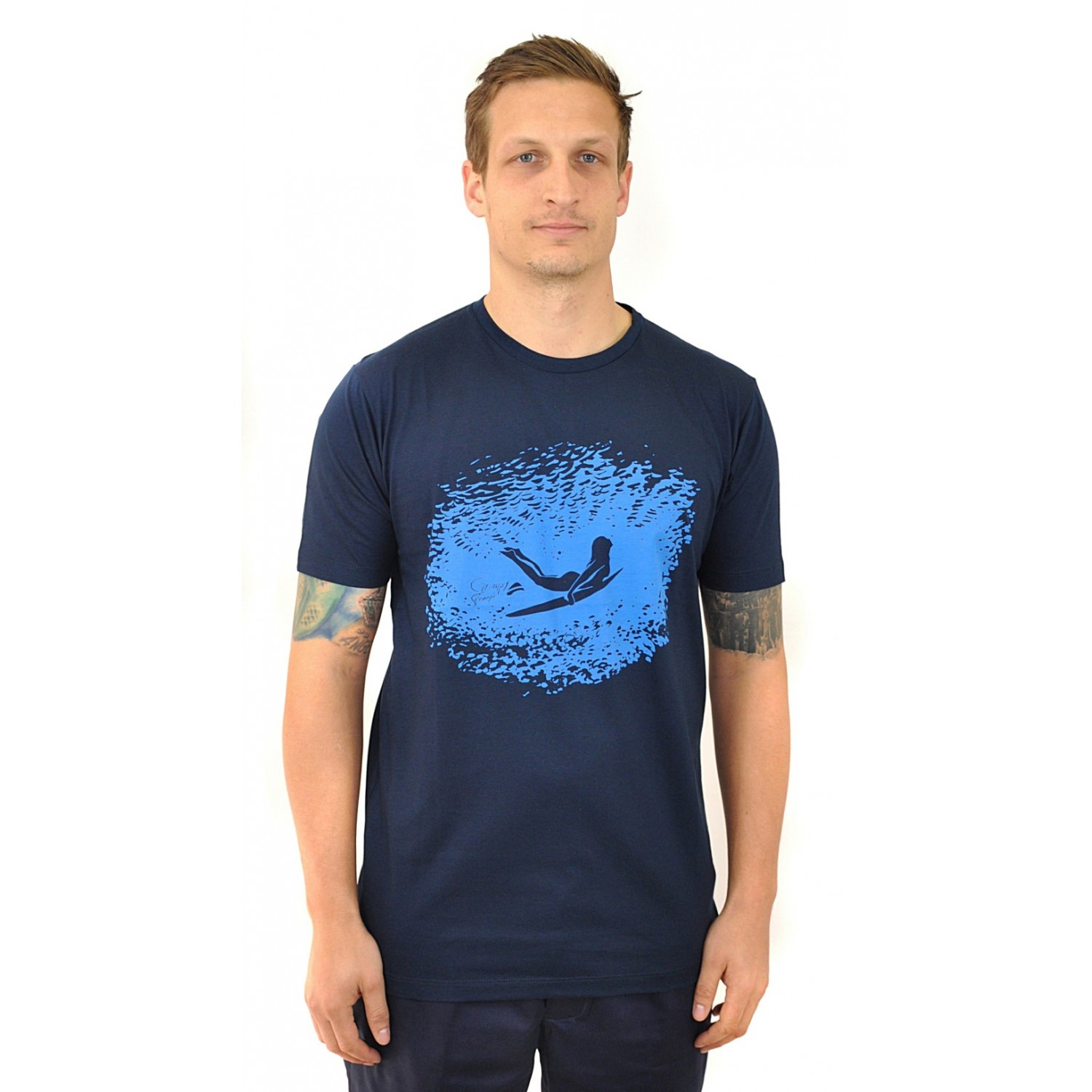 DUCKDIVE BLUE  T-Shirt