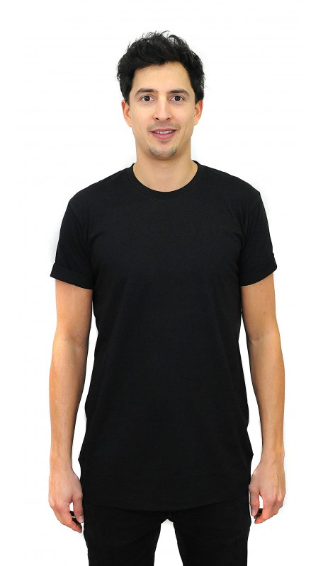 BAMBOO BLACK BASIC  T-Shirt