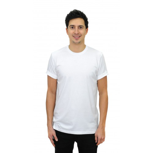 BAMBOO WHITE BASIC  T-Shirt