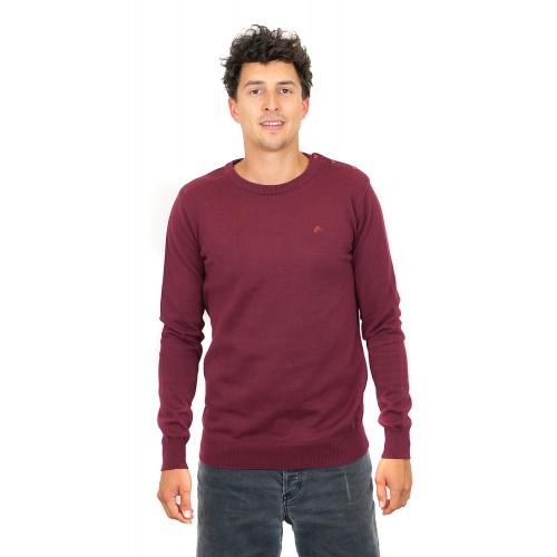 MAROON Knit Pullover