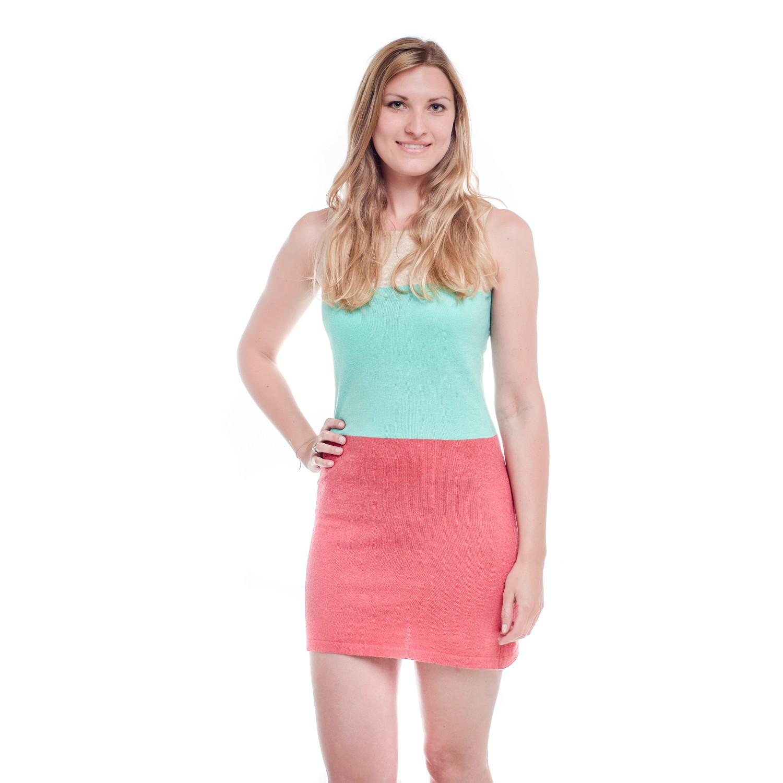 RIVIERA Fine Knit Summer Dress