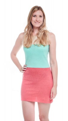RIVIERA Fine Knit Summer Dress